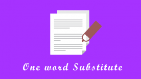one-word-substitute